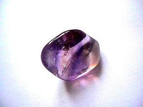 Minerály - Troml. kámen - ametrín, č.11 - 6034197_