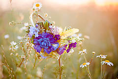 Ozdoby do vlasov - Meadow flowers by Hogo Fogo - 6030827_