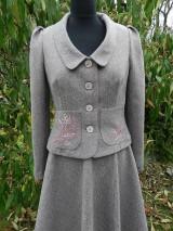Kabáty - jarná nálada v staroružovom - 6039477_