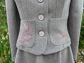 Kabáty - jarná nálada v staroružovom - 6039490_