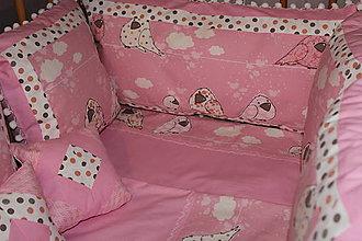 Textil - Súprava do detskej postieľky - 6040314_