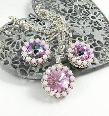 Sady šperkov - Žiarivá dúha - šitá súprava - 6036475_