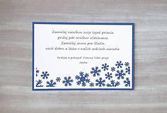 Papiernictvo - Vianočné prianíčko - 6036729_