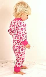 Detské oblečenie - Rastúci overal - merino vlna (veľ. 62-80/86 cm (3-12/18 m)  – 19 farieb) - 6036922_