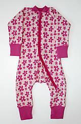 Detské oblečenie - Rastúci overal - merino vlna (veľ. 62-80/86 cm (3-12/18 m)  – 19 farieb) - 6036923_