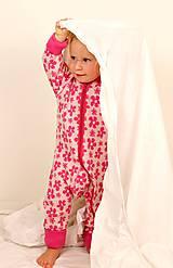 Detské oblečenie - Rastúci overal - merino vlna (veľ. 62-80/86 cm (3-12/18 m)  – 19 farieb) - 6036924_