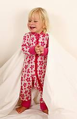 Detské oblečenie - Rastúci overal - merino vlna (veľ. 62-80/86 cm (3-12/18 m)  – 19 farieb) - 6036925_