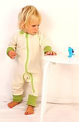 Detské oblečenie - Rastúci overal - merino vlna (veľ. 75 - 92 cm (9-24 mesiacov) – 19 farieb) - 6037026_