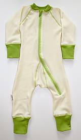 Detské oblečenie - Rastúci overal - merino vlna (veľ. 75 - 92 cm (9-24 mesiacov) – 19 farieb) - 6037028_