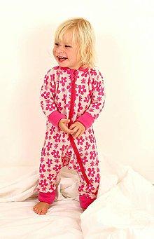 Detské oblečenie - Rastúci overal - merino vlna (veľ. 62-80/86 cm (3-12/18 m)  – 19 farieb) - 6036926_