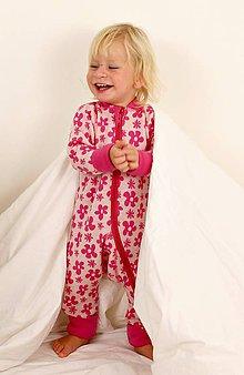 Detské oblečenie - Rastúci overal - merino vlna (veľ. 75 - 92 cm (9-24 mesiacov) – 19 farieb) - 6036969_
