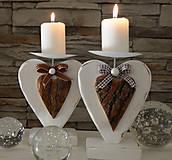 Svietidlá a sviečky - Maják: Drevený svietnik  - 6038203_