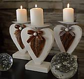 Svietidlá a sviečky - Maják: Drevený svietnik  - 6038204_