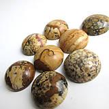 Minerály - Jaspis krajinkový / 15mm - 6038638_