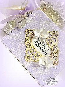 Papiernictvo - Toskánska orchidea... - 6039420_