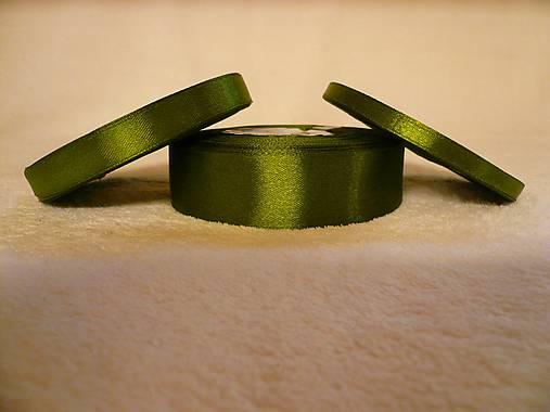 Saténová stuha olivová 12 mm/32 m