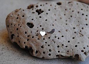 Náušnice - Kúsok lásky, kúsok voľnosti - 6043757_