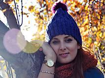 Čiapky - Modrá - 6045642_