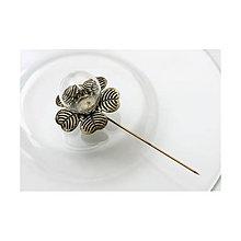 Komponenty - Vlásenka so sklenenou guľou 19/20mm - 6043890_