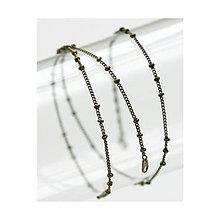 Komponenty - Retiazka kombinovaná bronzová 50cm - 6044024_