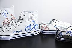 Obuv - rodičovské s bicyklom - vysoké - 6042325_