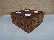 Svietidlá a sviečky - Svietnik Anjelíci - 6044556_