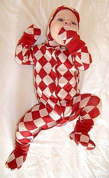 Detské oblečenie - Rastúci overal - merino vlna (veľ. 0-6m (50-68cm) – 19 farieb) - 6043794_