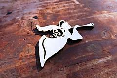 Dekorácie - V-04-026 Anjel s trúbkou - 6041441_