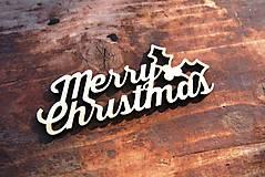 Dekorácie - V-04-028 Merry Christmas - 6041452_
