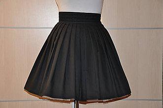 Sukne - SUKŇA-čierna - 6043967_