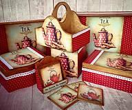 Krabičky - Nový typ podšálok - 6043097_