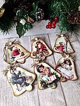 Dekorácie - Vianočné zvončeky - 6043517_