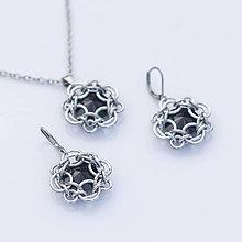 Sady šperkov - Elisabeth souprava - swarovski (černá) - 6047987_