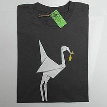 Oblečenie - Pánské tričko Origami - 6047619_