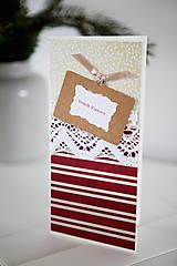 Papiernictvo - Vianočná pohľadnica *10 - 6048028_
