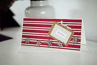 Papiernictvo - Vianočná pohľadnica *11 - 6048094_