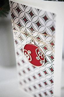 Papiernictvo - Vianočná pohľadnica *12 - 6048130_