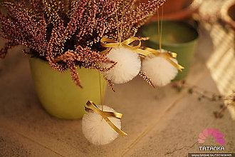Dekorácie - Zlaté Vianoce - 6049293_