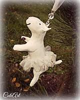 Balerinka na stromček - vianočná ozdoba