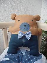 - medvedík Bubu v riflových nohaviciach - 6047074_