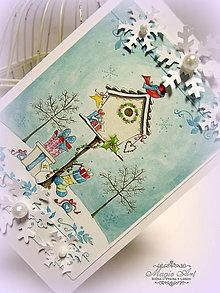 Papiernictvo - Darčeky pre vtáčiky - 6050512_