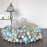 Dekorácie - Adventný veniec z vianočných gulí - 6049247_