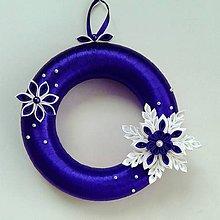 Dekorácie - Vianočné vence rôzne farby - 6051596_