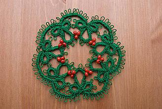 Dekorácie - Vianočný venček 4 - 6050869_
