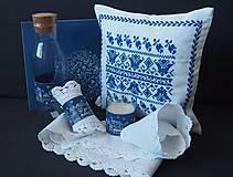 Pomôcky - Vianočná sada Modrá dedinka - 6054010_