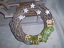 Dekorácie - Venček Malý vidiek - 6053680_