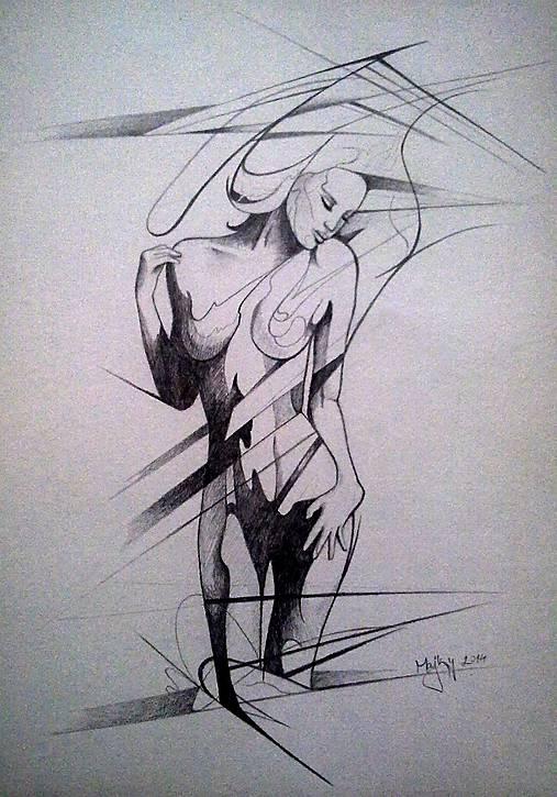 Zena Majkyart Sashe Sk Handmade Kresby