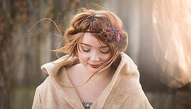 Ozdoby do vlasov - Čelenka na gumičke