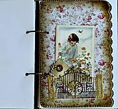 Papiernictvo - Izabelkina záhrada snov-dievčenský denníček - 6054482_
