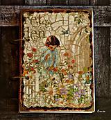 Papiernictvo - Izabelkina záhrada snov-dievčenský denníček - 6054483_